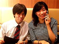 安藤 将大さんと浅野 絵菜さんの顔写真